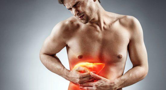 肝臓足つぼ痛いイメージ_ic