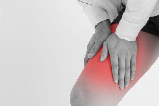筋肉痛ストレッチイメージ