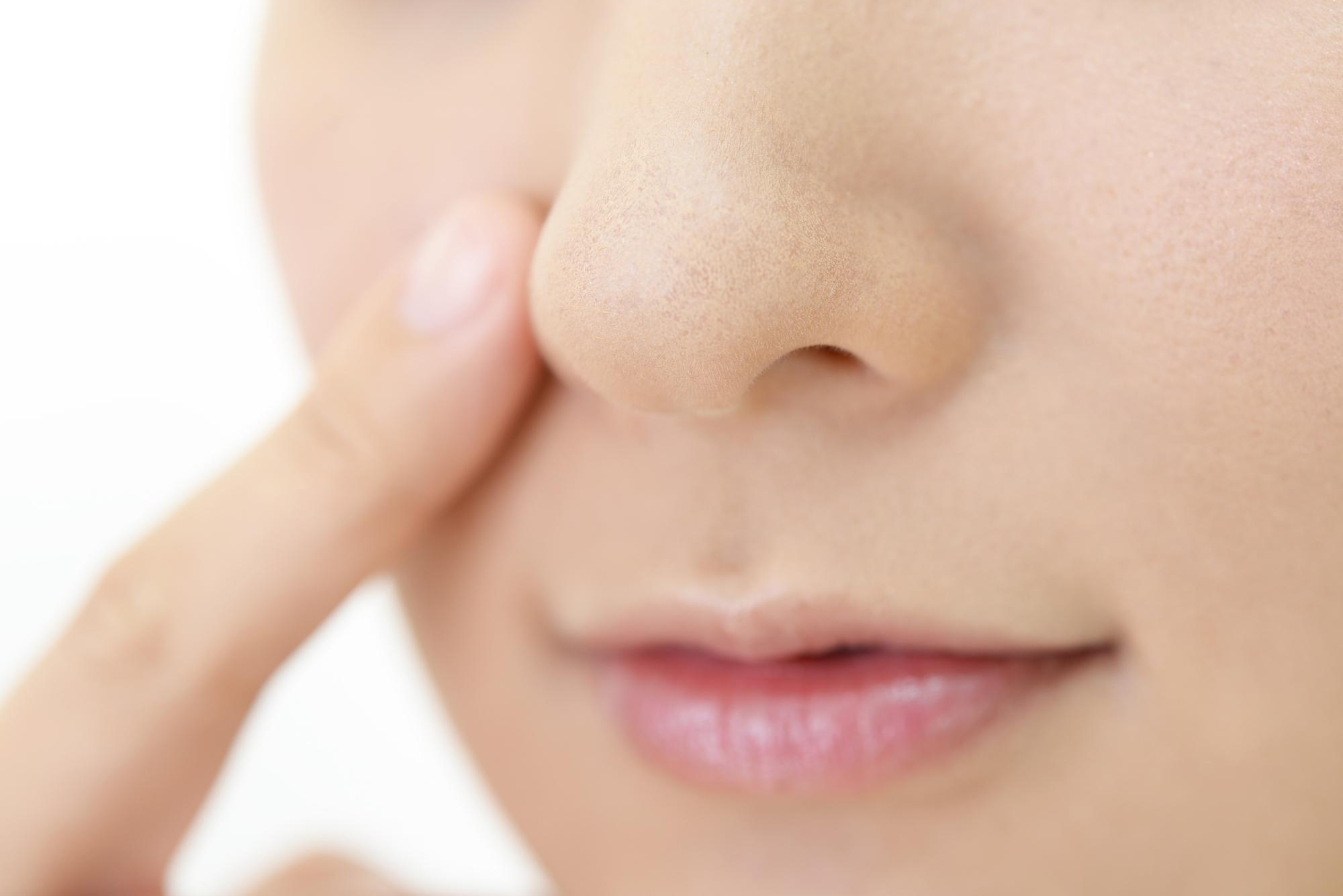 が ない 鼻筋
