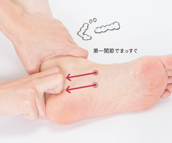 足裏の指圧